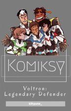 Komiksy » Voltron ✔️ by kogane_chan
