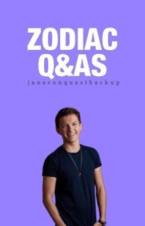 Zodiac Q&As by JaneConquestBackup
