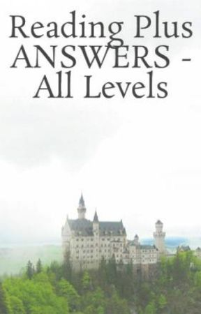 Reading Plus ANSWERS - All Levels by ReadingPlusAnswers_