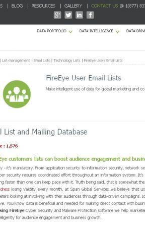 List of Companies Using FireEye - FireEye Customers List