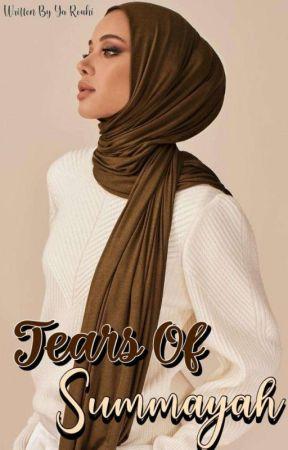 Tears Of Summayah ~Editing~ by YaRouhii