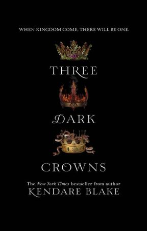 THREE DARK CROWNS SIGNED BOOK GIVEAWAY by Fantasy