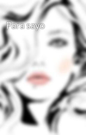 Para sayo by Nillionaire