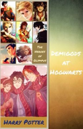 Demigods at Hogwarts by Wonder_Artist