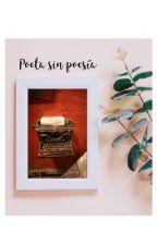 Poeta sin poesía by nuncalosabre