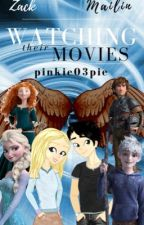Watching their movies and reacting to videos  by pinkie03pie