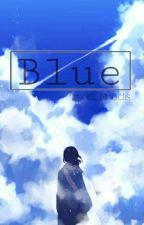 Blue//Jeon Jungkook texting. by senpaechi