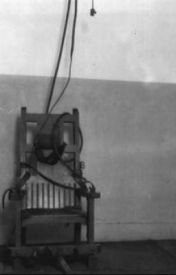 Electric Chair by SomberWriter
