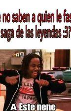 Memes de las leyendas (saga y serie :v) by LawisRosas