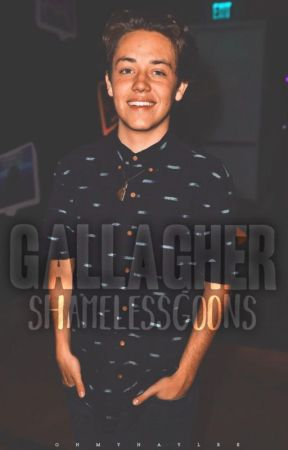 gallagher ➳ shameless gif series by shamelessgoons