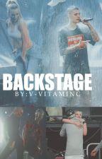 Backstage - j.b | Short Story | by v-vitaminc