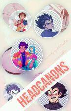 【Headcannons | Dragon Ball】 by multifan-