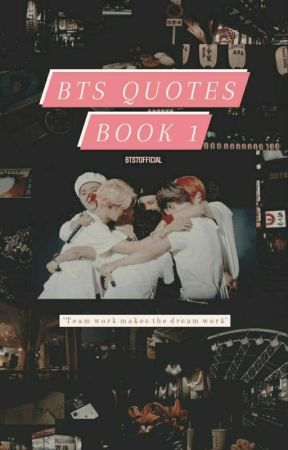 BTS quotes by bts7official
