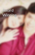 Award Winning. by julielmofiction