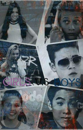 Girls V.S Boys by juliev0916