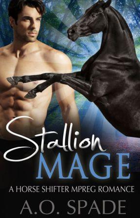 Stallion Mage: A Horse Shifter Mpreg Romance (COMPLETE) by aospade