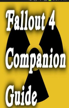 Fallout 4 Companion Handbook by XxmousquinnxX