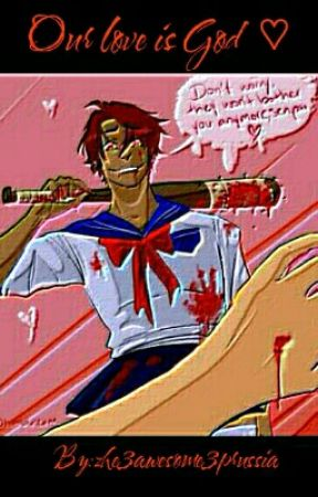 our love is God (yandere 2p!America x reader)  by zhe3awesome3prussia