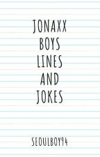 Jonaxx Boys Lines and Jokes by kymarfori
