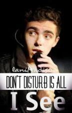 Nathan Sykes - Don't Disturb Is All I See by LaniMadis0n