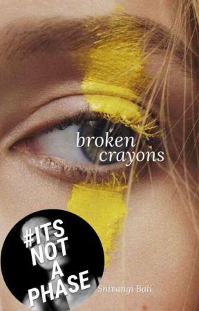 broken crayons by shivivivi