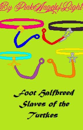 Foot halfbreed slaves of the turtles by PinkAngelofLight