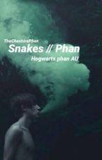 Snakes // Phan hogwarts AU by TheCheshirePhan