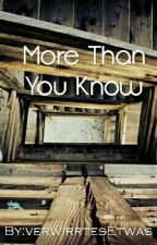 More than you know GirlXGirl by verwirrtesEtwas