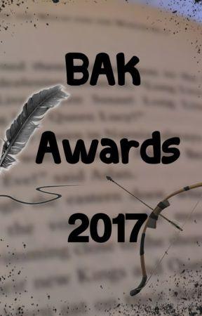 BAK Awards 2017 ~ INSCRIPCIONES ABIERTAS by BAKawards