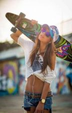 Skater Girl. by emssvampire