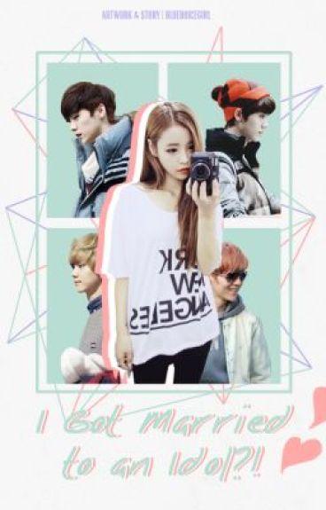 Kpop Book Cover Wattpad : I got married to an idol exo kpop fanfiction