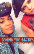 Behind The Scenes {Thomas Doherty and China Anne McClain} by littlefanficter