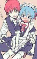 servant love (Karma x Nagisa) by Rose_Joker