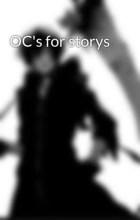 OC's for storys by _jason_reaper
