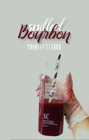 Spilled Bourbon {damon} by YourLittleBoo