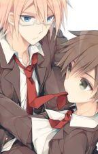 Mi esclavo Togami x Naegi by user09015027