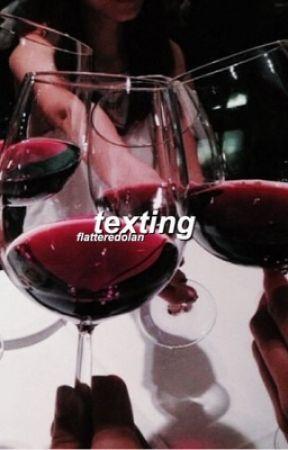 texting | grayson dolan by flatteredolan