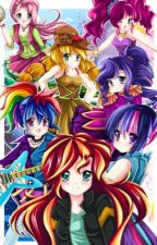 Elements of smallville (Equestria girls harem x male reader) by Sethchild