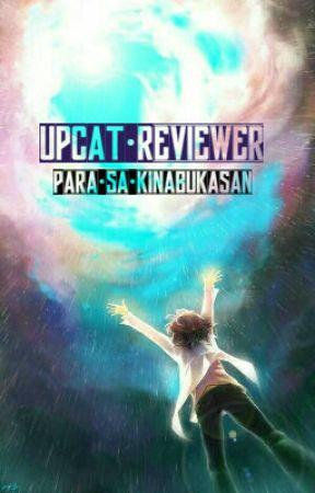 Upcat Reviewer Book