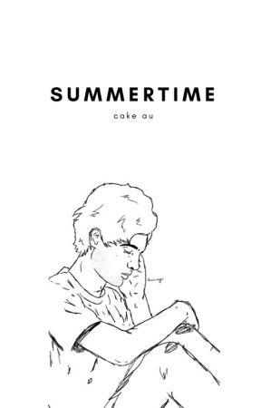 SUMMERTIME |  cake au /tłumaczenie / by noorhelm13
