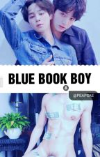 Blue Book Boy • jjk + pjm [NSFW?] by peapsae