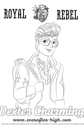 Coloring Pages Of Ever After High I Did Ceder Wattpad