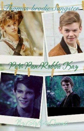 Thomas-brodie Sangster/Newt And Robbie Kay/Peter Pan Imagines