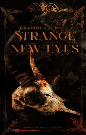 strange new eyes • graphic portfolio by viciouscupcake-