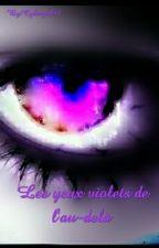 Les yeux violets de l'au-delà  by Cybergirl91