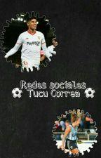 Redes sociales *Joaquin Correa* by Clota_22