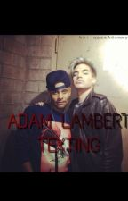 Adam Lambert: Texting  by oazaAdommy