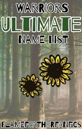 Warriors Ultimate Name List - H suffixes - Wattpad