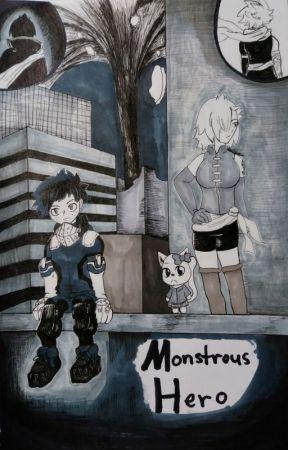Monstrous Hero- My Hero Academia x Fairy Tail (Oc