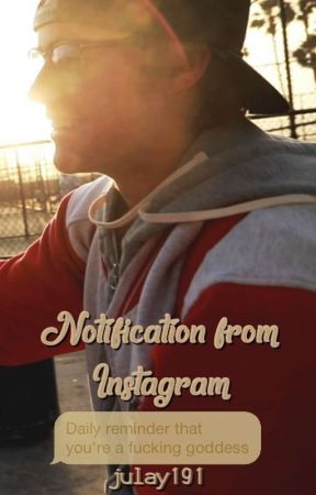 Notification from Instagram × JB by Julay191